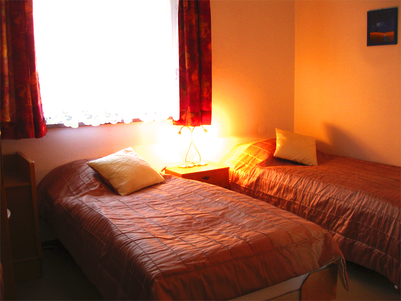 Zwei Betten