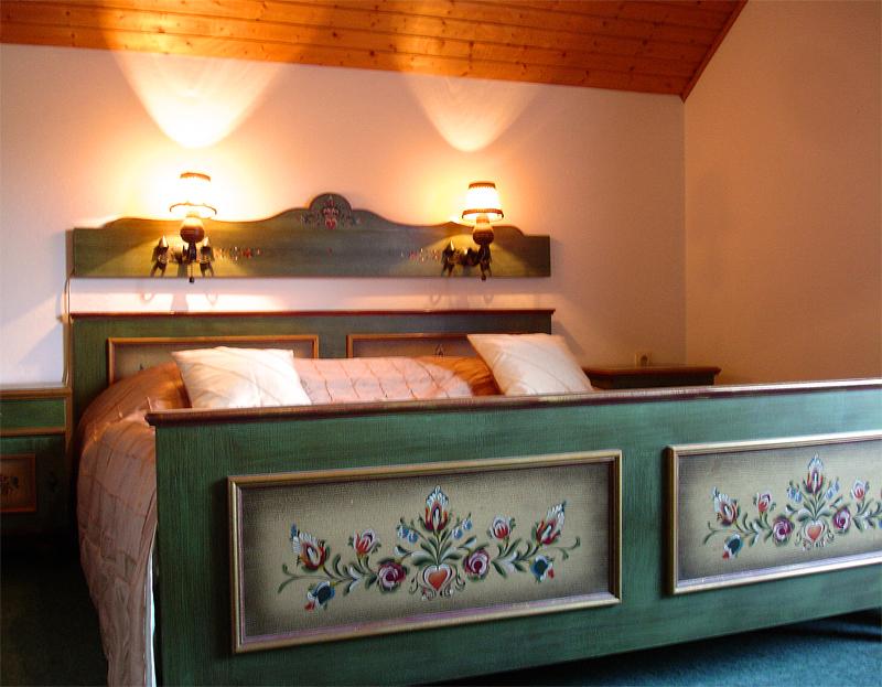 Großes Doppelbetten
